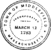 Official seal of Middlefield, Massachusetts