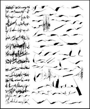 Asemic writing - Image: Mirtha Dermisache Newsletter