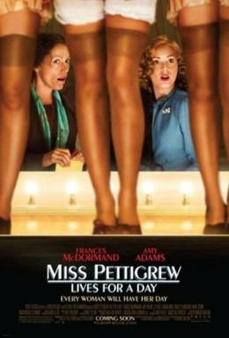 Miss Pettigrew Lives for a Day - Theatrical release poster