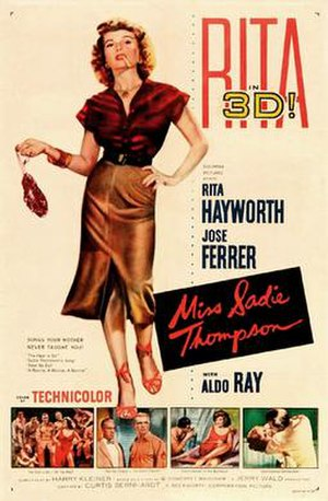 Miss Sadie Thompson - Film poster