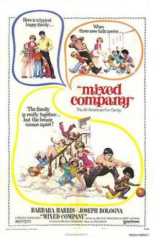 Mixed Company - Film poster by Frank Frazetta