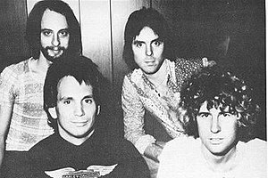Montrose (band) - Montrose, 1975. Clockwise from top left: Alan Fitzgerald, Ronnie Montrose, Sammy Hagar, and Denny Carmassi.