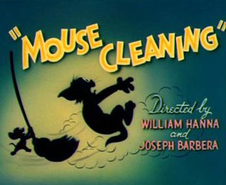<i>Mouse Cleaning</i> 1948 Tom and Jerry cartoon