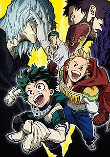 <i>My Hero Academia</i> (season 4) Season of television series