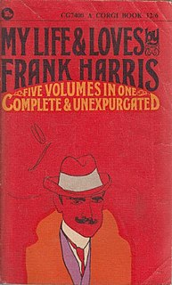 <i>My Life and Loves</i> book by Frank Harris