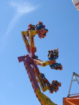 New Jersey State Fair - Image: NJ Fair carnival ride