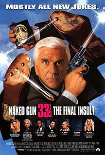 <i>Naked Gun 33⅓: The Final Insult</i> 1994 film directed by Peter Segal