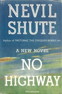 <i>No Highway</i> book by Nevil Shute