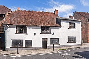 Fanny Adams - The Leathern Bottle, now a pub, was where Fanny's remains were collected and reassembled.