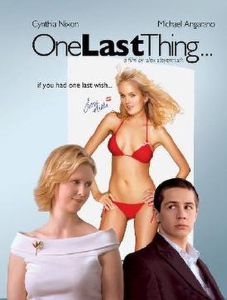 One Last Thing... - Theatrical release poster