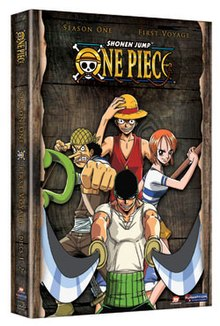 list of one piece episodes seasons 1 8 wikipedia. Black Bedroom Furniture Sets. Home Design Ideas