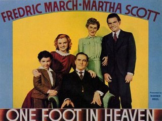 <i>One Foot in Heaven</i> 1941 US film directed by Irving Rapper