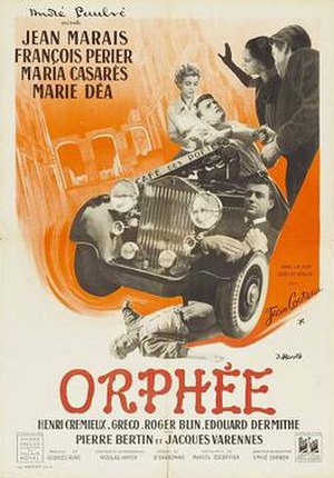 Orpheus (film) - Theatrical release poster