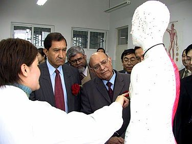 PMDC officials on visit to First Affiliated Hospital of Xinjiang Medical University PMDC delegation.jpg