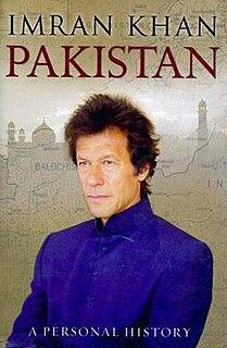<i>Pakistan: A Personal History</i> book by Imran Khan