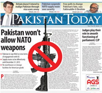 Pakistan Today - Image: Pakistan Today