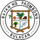 Official seal of Municipality of Paombong