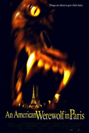 An American Werewolf in Paris - Theatrical release poster