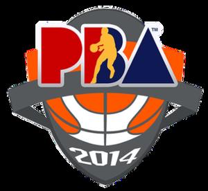 2013–14 PBA season - Image: Pba 2013 14 logo