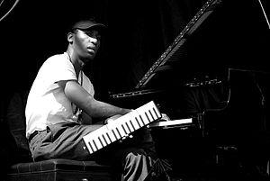 Jon Batiste - Batiste in 2008 during a soundcheck for Cassandra Wilson at Bluesfest in Ottawa