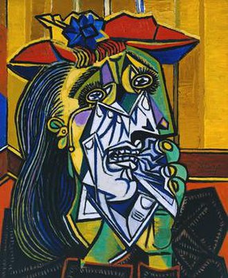 The Weeping Woman - The Weeping Woman (Femme en pleurs), 26 October 1937 at the Tate Modern
