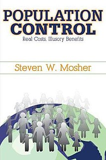 <i>Population Control: Real Costs, Illusory Benefits</i> book by Steven W. Mosher