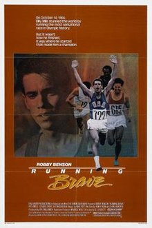 Poster of the movie Running Brave.jpg