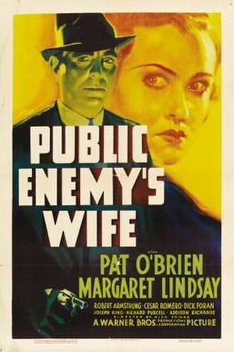 Public Enemy's Wife - Theatrical release poster