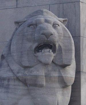 Frances Loring - Image: Queen E Lion