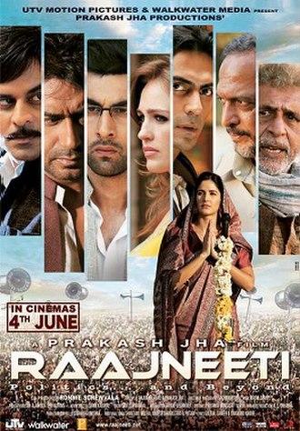 Raajneeti - Theatrical release poster