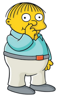Ralph Wiggum Fictional character from The Simpsons franchise