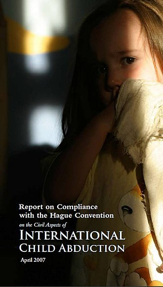 International child abduction - Cover of a US report on International Child Abduction (2007)