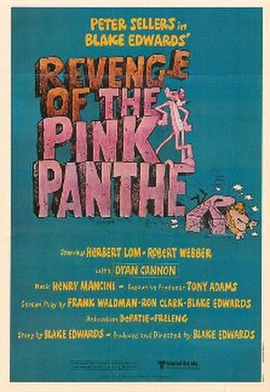 Revenge of the Pink Panther - Theatrical release poster