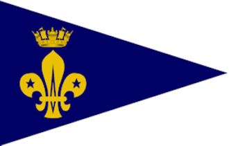 Royal Navy Recognised Sea Scouts - The Admiralty Pennant also worn by RN Recognised Sea Scout Groups