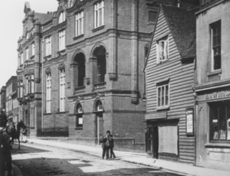 Sir Joseph Williamson's Mathematical School - The school after it was rebuilt in 1895.