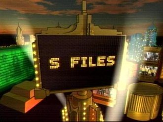 S-Files - Image: S files gma
