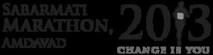 Sabarmati Marathon - Logo for Sabarmati Marathon 2013