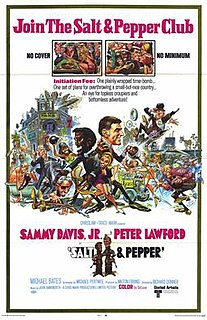 <i>Salt and Pepper</i> (film) 1968 film by Richard Donner