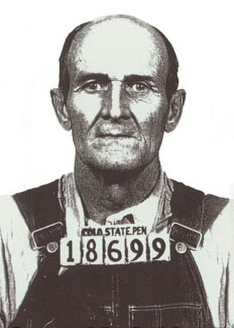 Samuel R. Caldwell - A photo of Caldwell after his arrest