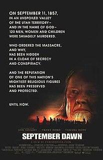 <i>September Dawn</i> 2007 film by Christopher Cain