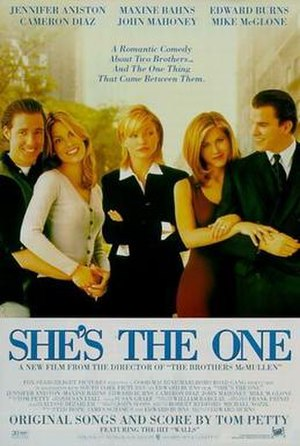 She's the One (1996 film) - Theatrical release poster