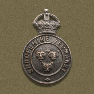 Shropshire Yeomanry - Badge of the Shropshire Yeomanry