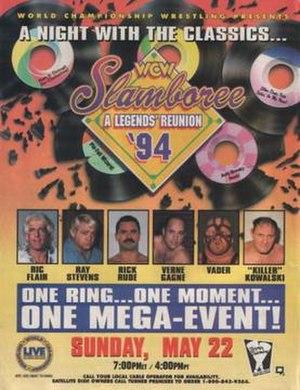 Slamboree - Image: Slamboree 1994 poster