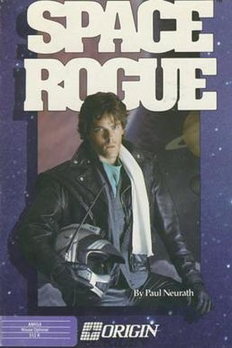 Space Rogue - The cover of Space Rogue