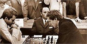 19th Chess Olympiad - Spassky versus Fischer