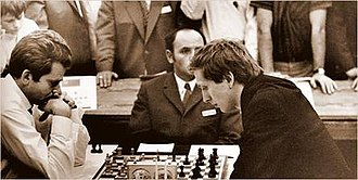 19th Chess Olympiad - Spassky versus Fischer