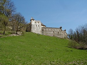 Stará Ľubovňa - Castle from the grounds