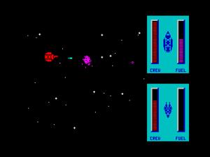 Star Control - A ZX Spectrum screenshot