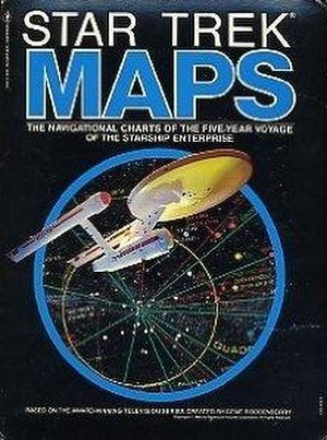 Star Trek Maps - Image: Star Trek Maps, 1980 book