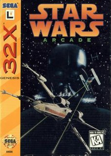 <i>Star Wars Arcade</i> 1993 video game